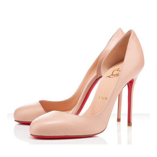 56edd02c6b Christian Louboutin Corneille 100mm Pumps Pink, Red Bottom Shoes ...